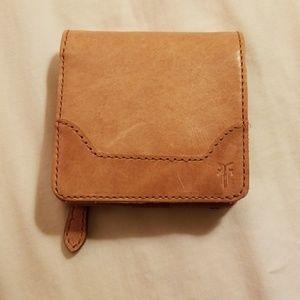 Frye leather wallet